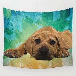 Boerboel puppy - South African Mastiff Wall Tapestry