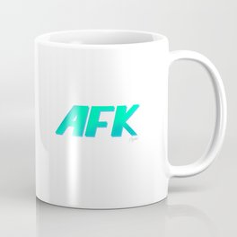"AFK ""Away From Keyboard"" Coffee Mug"