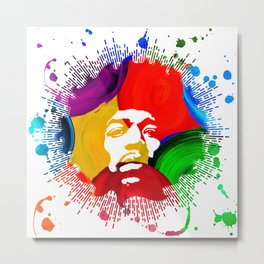 JIMI0402_water color Metal Print