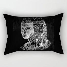 Secrets of Your Skull Rectangular Pillow