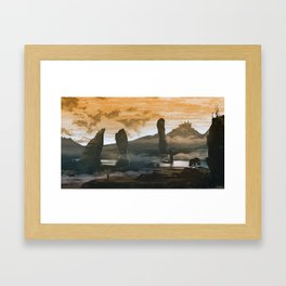 The Kingdom Framed Art Print