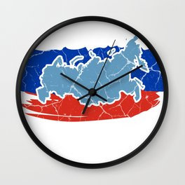 Russia Moscow Russian gift Россия Wall Clock