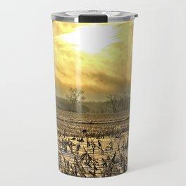 Overcast Sunrise 2 Travel Mug