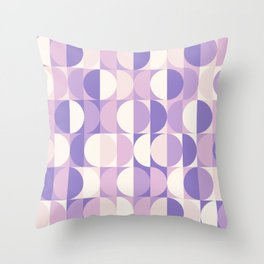 geomage (carnivals palette) Throw Pillow