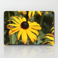dentist iPad Cases featuring Happy Flowers by IowaShots