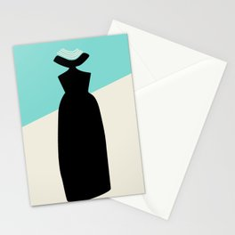Fashion Breakfast Outfit Stationery Cards