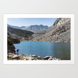 High Country Cast Art Print