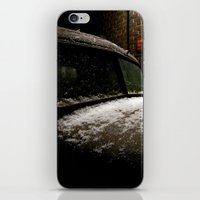 truck iPhone & iPod Skins featuring Truck Stop by Michael G. Mitchener