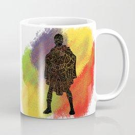 Robin Splatter Pattern Coffee Mug