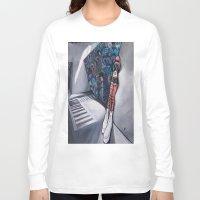 karma Long Sleeve T-shirts featuring Karma by Sandi Sharp