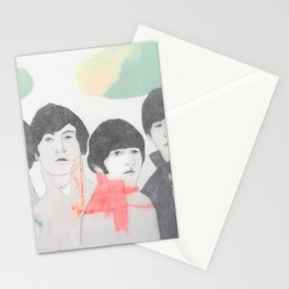 Strawberry fields forever! Stationery Cards