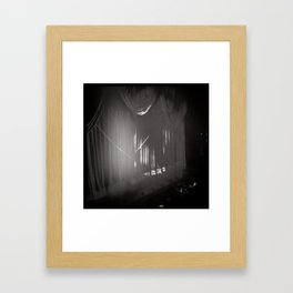 Stage Curtain Framed Art Print