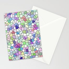 Mosaic Pattern Stationery Cards