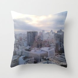 Looking Through Glass Throw Pillow