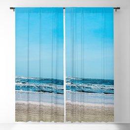 New Jersey Beach Blackout Curtain