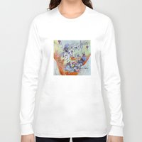 best friends Long Sleeve T-shirts featuring best friends by Kira Leigh