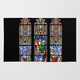 Cathedral Stained Glass 2 Rug