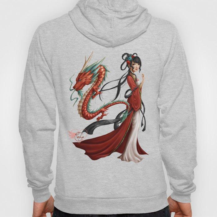 Chinese dragon pure Hoody