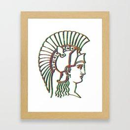 Alexander 's Bust Framed Art Print