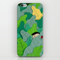 hunting iPhone & iPod Skins featuring Hunting by Mark Conlan