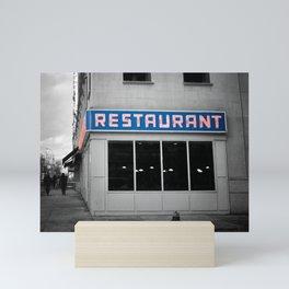 Toms Diner NYC Mini Art Print