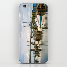 At the Dock iPhone Skin