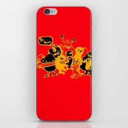 Monsters Want To Be Heard Too iPhone Skin