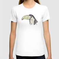 toucan T-shirts featuring Toucan by Ursula Rodgers