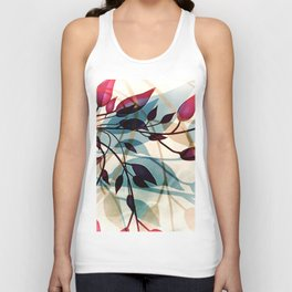 Flood of Leafs Unisex Tank Top