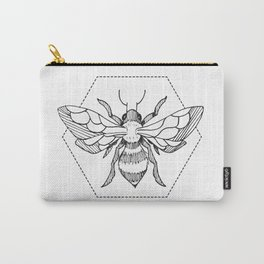 Pen&Ink Bee Tattoo Carry-All Pouch