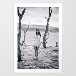B&W Models Series Art Print