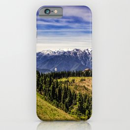 Hurricane Hill View iPhone Case