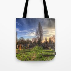 Kensal Green Cemetery London Tote Bag