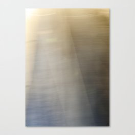 Light and Metal Abstract Canvas Print