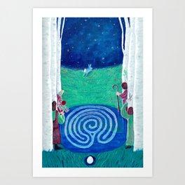 20 Judgement (Baby Birch) Art Print
