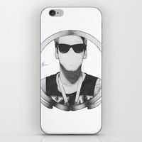 caleb troy iPhone & iPod Skins featuring caleb shomo by Ethan Raney Jarma