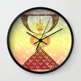 El de timanfaya Wall Clock