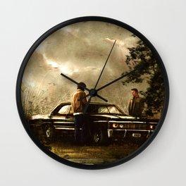 Boy Melodrama Wall Clock