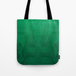 Round and About Emerald Tote Bag
