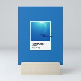 Pantone Series – Deep Diving Mini Art Print