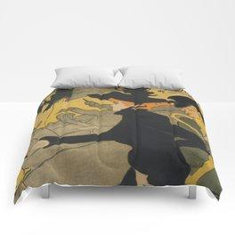 Henri de Toulouse-Lautrec Divan Japonais Comforters