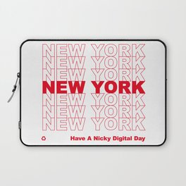 NEW YORK NEW YORK NEW YORK Laptop Sleeve