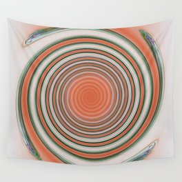 Spiral Abstract Wall Tapestry