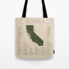 California Parks Tote Bag