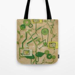 Flower Machine Tote Bag
