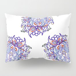 traditional paisley in modern style Pillow Sham