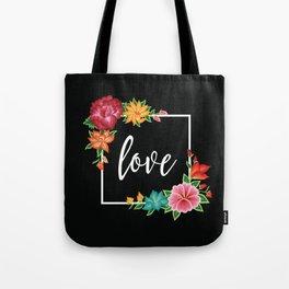 Floral Love I. Tote Bag