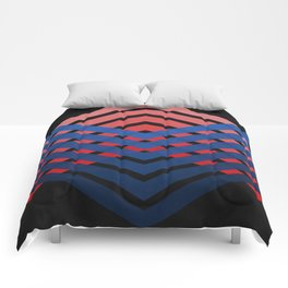 Blue & Red Connections Comforters