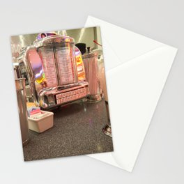 Strawberry Malt Shake  Stationery Cards