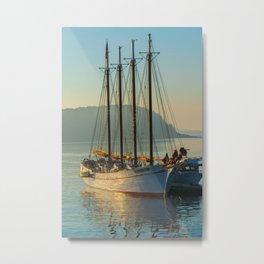 Bar Harbor Maine Margaret Tod Ship Print Metal Print